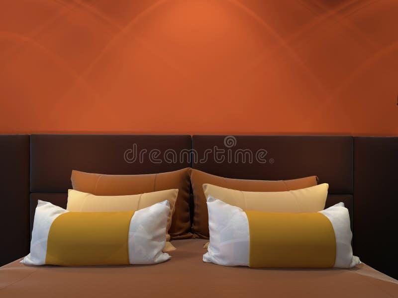 sypialni nowożytny dwoisty zdjęcia stock