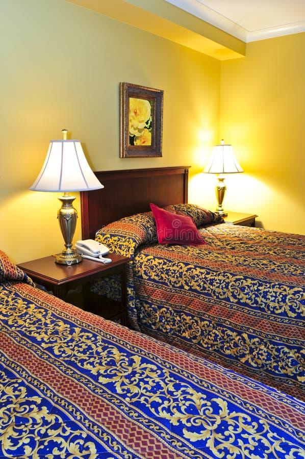 sypialni wnętrze zdjęcie stock