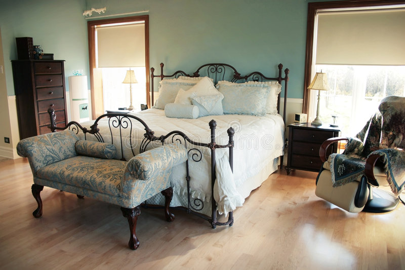 sypialnia fotografia royalty free