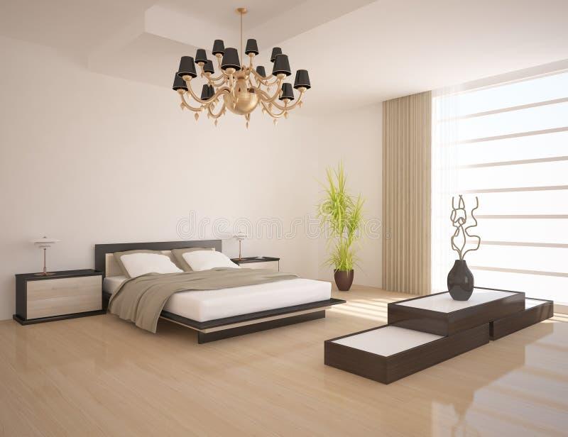 sypialnia biel ilustracji
