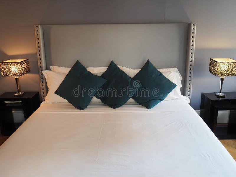 sypialnia elegancka zdjęcia stock