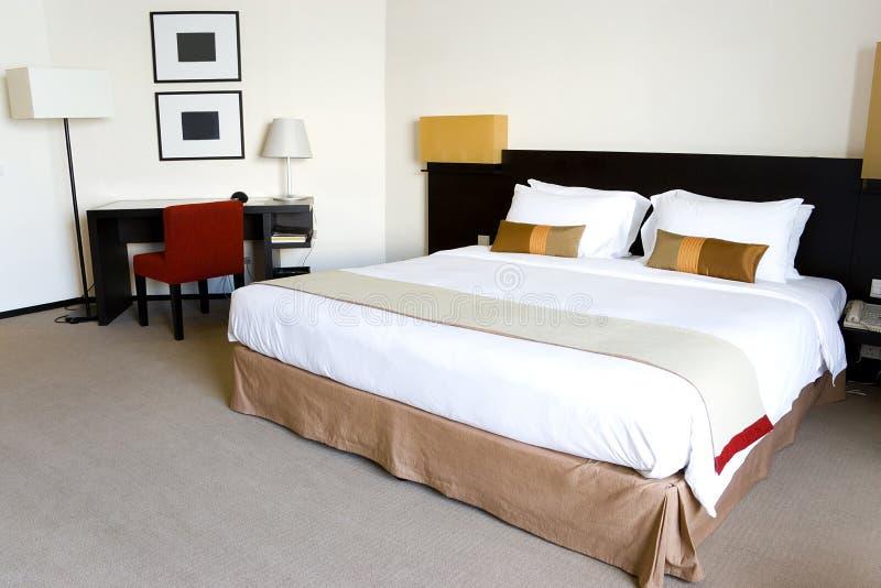 sypialnia hotel fotografia royalty free