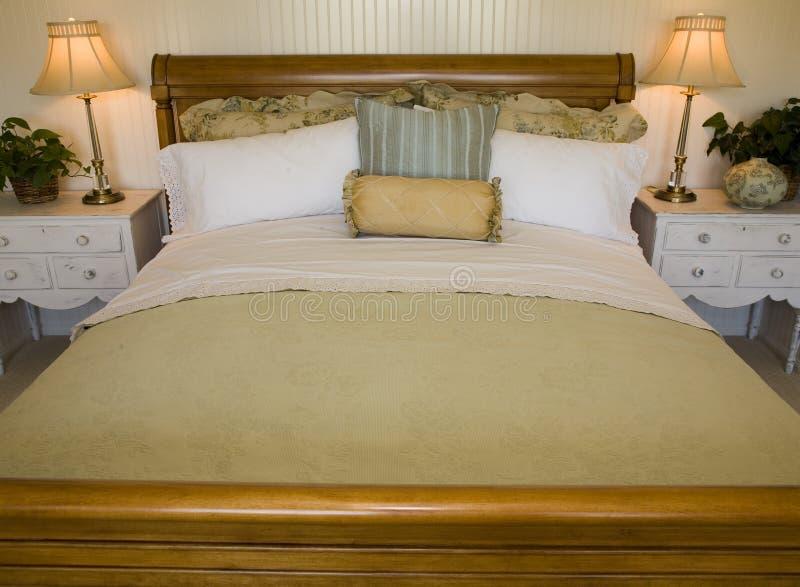 sypialnia luksus obrazy royalty free