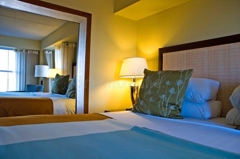 sypialnia na luksus zdjęcie stock