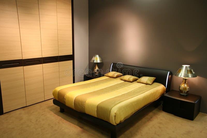 sypialnia nowoczesnej obrazy stock