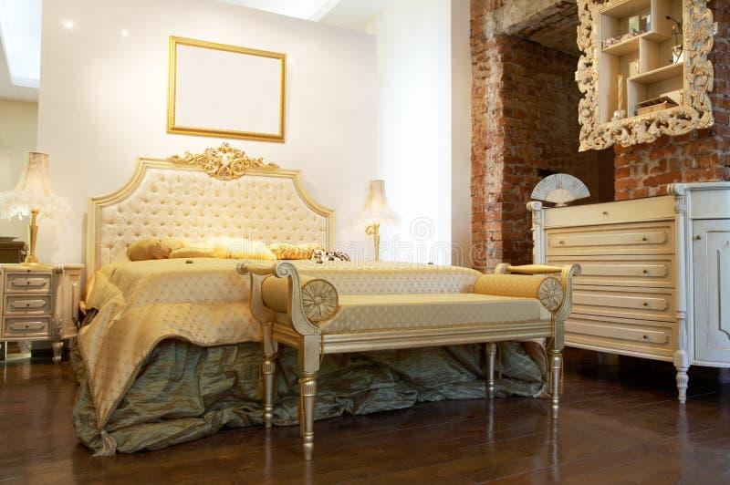 sypialnia nowoczesnej obrazy royalty free