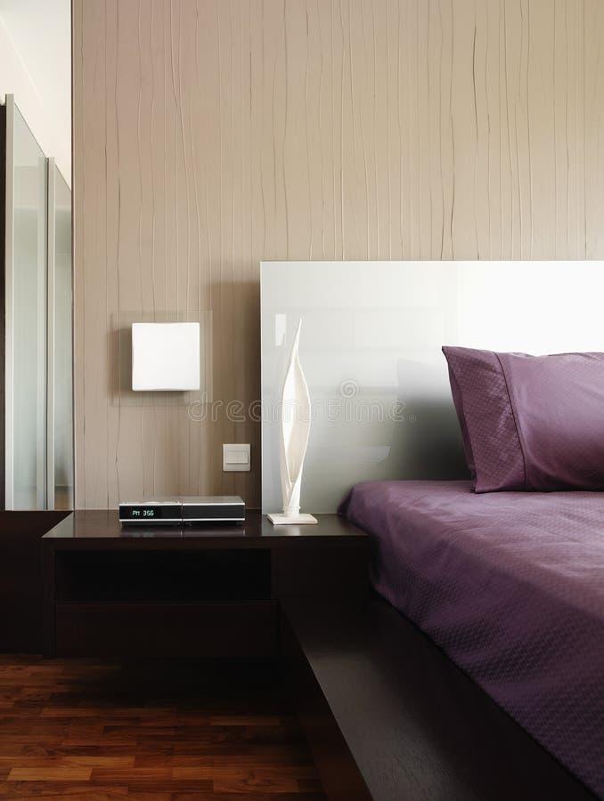 sypialnia projektu wnętrze zdjęcia stock