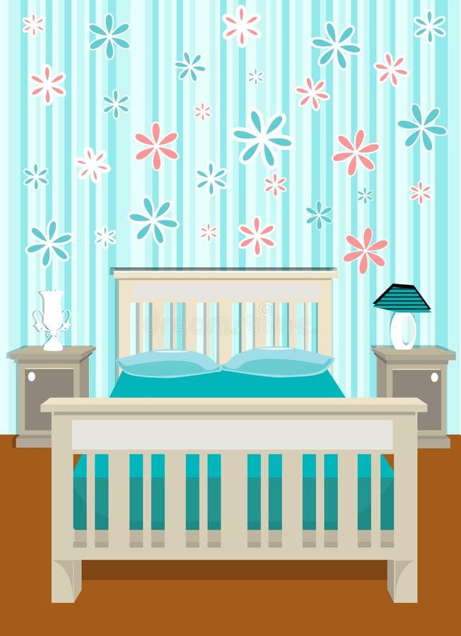sypialnia słodki wektora royalty ilustracja