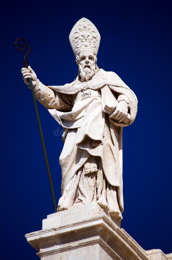 Syracuse, de Duomo-details royalty-vrije stock fotografie