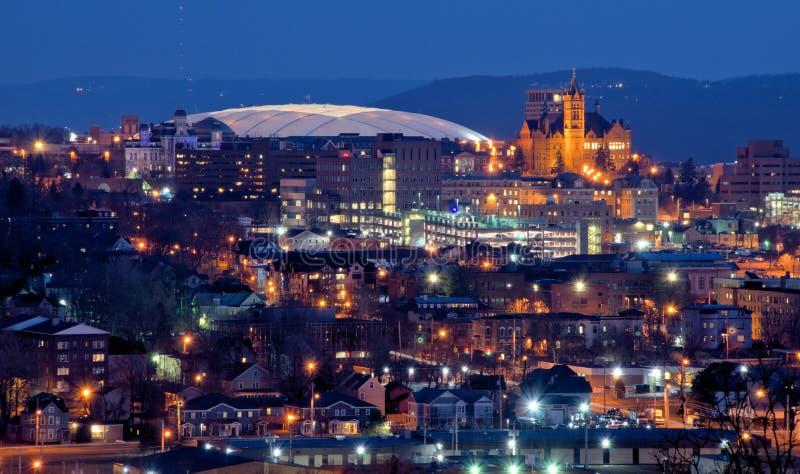 Syracuse linia horyzontu zdjęcia stock