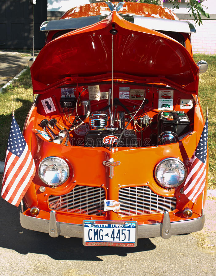 Download Syracuse Nationals, Crosley Front View Editorial Photo - Image: 20353676