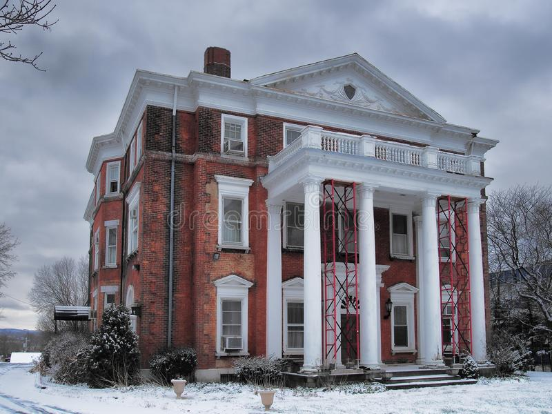 The Barnes-Hiscock Mansion stock images