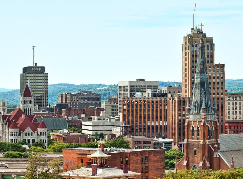 Syracuse New York royaltyfria foton