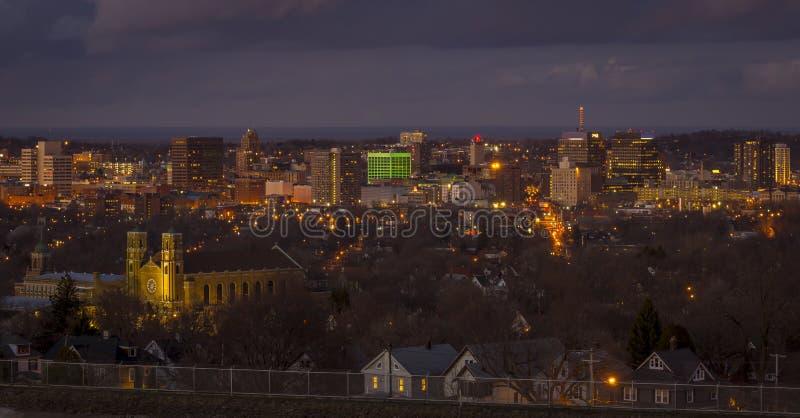 Syracuse Nueva York céntrica foto de archivo