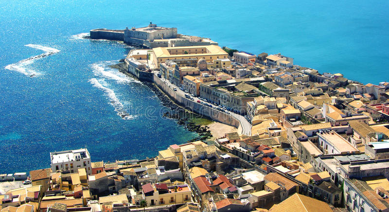 Syracuse Sicily royalty free stock photography