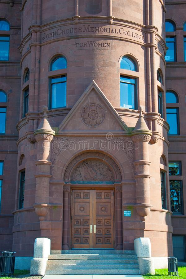 Syracuse universitet, Syracuse, New York, USA arkivfoto