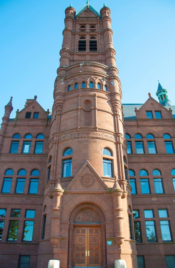 Syracuse universitet, Syracuse, New York, USA royaltyfri fotografi