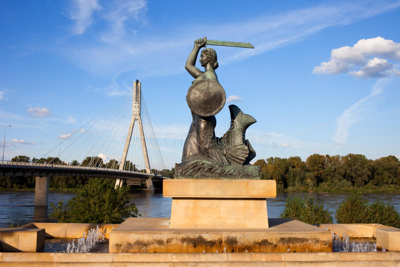 syrenki statua fotografia royalty free