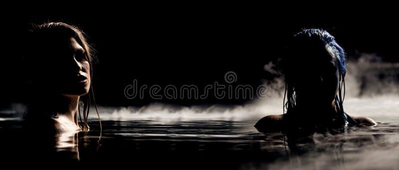 Syreny noc zdjęcie stock