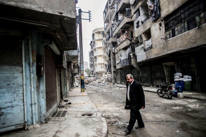 Syrië: Al-Qaeda in Aleppo stock afbeeldingen