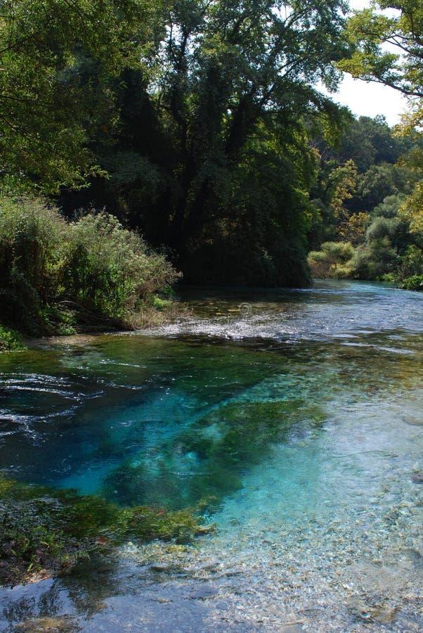 syri μπλε ματιών της Αλβανίας kal στοκ φωτογραφία με δικαίωμα ελεύθερης χρήσης