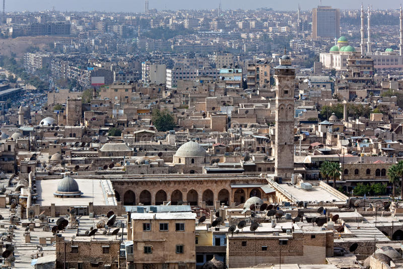 Syria - Aleppo imagens de stock royalty free