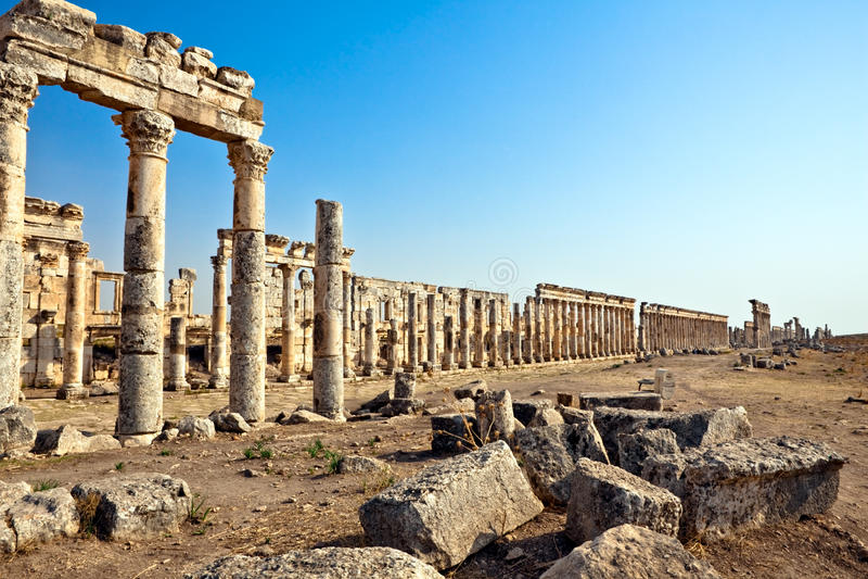 Syria - Apamea fotos de stock