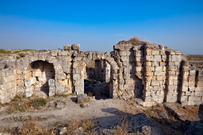 Syria - Apamea fotografia de stock royalty free