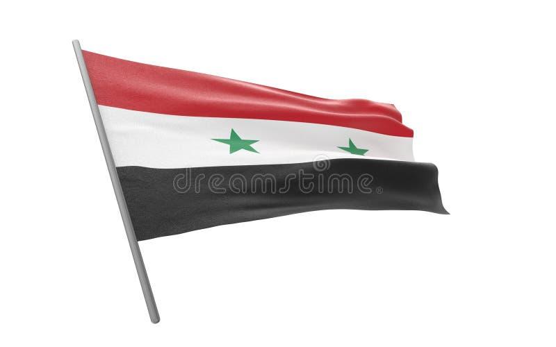 Syria bandery ilustracji