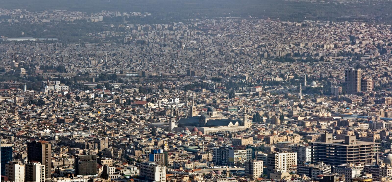 Syria - Damasco fotografia de stock royalty free