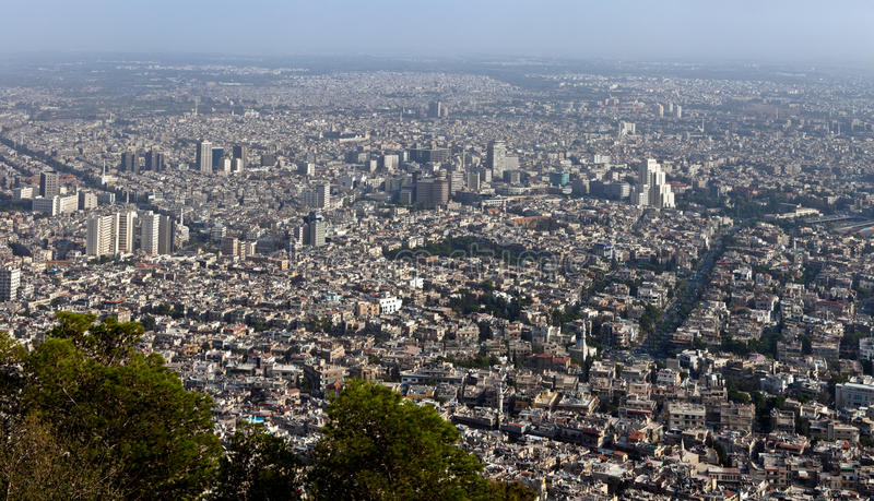 Syria - Damasco imagem de stock royalty free