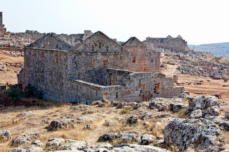 Download Syria - The Dead Cities stock image. Image of dead, architectural - 12032389