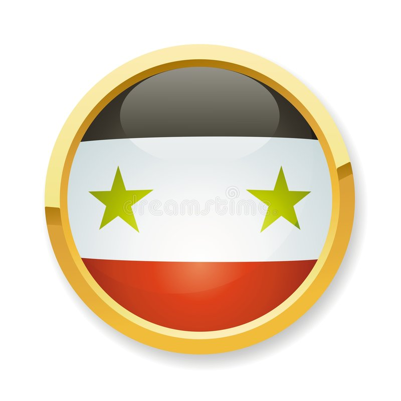 Download Syria flag button stock vector. Image of asia, atlas, country - 7887521