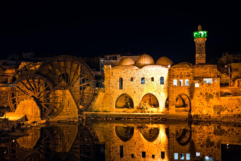 Syria - Hama foto de stock