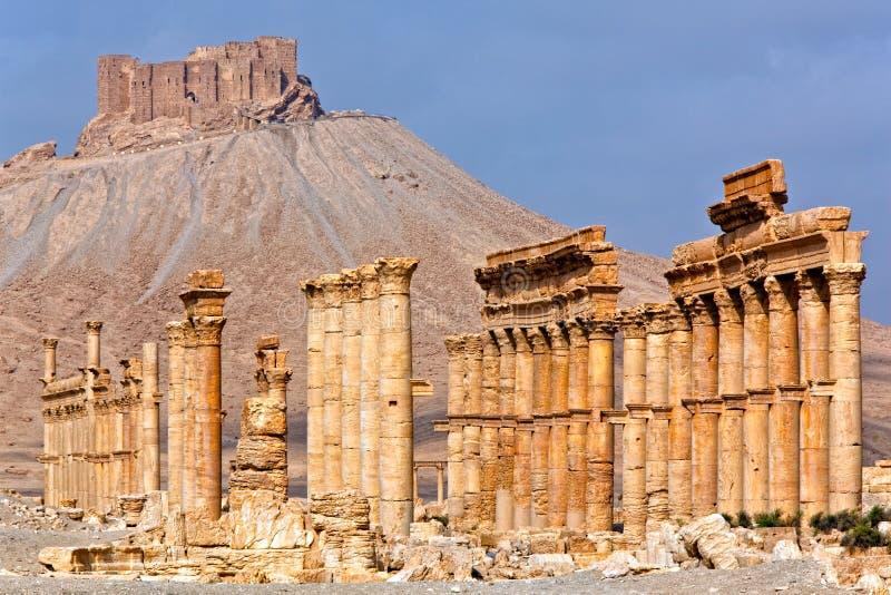 Syria - Palmyra (Tadmor) royalty free stock photos