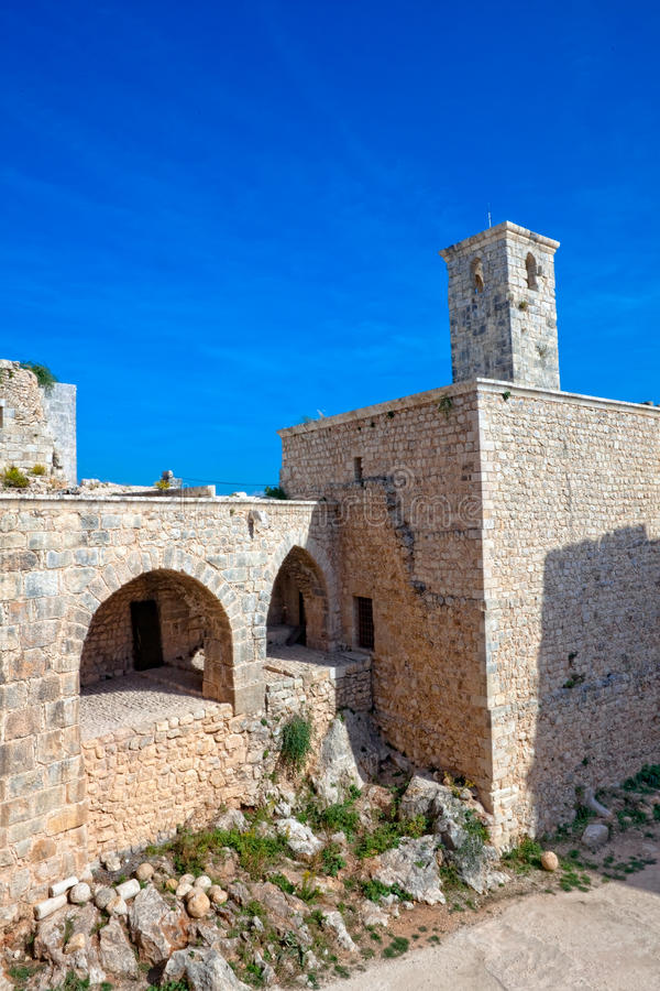 Download Syria - Saladin Castle (Qala'at Salah Ad Din) Royalty Free Stock Photo - Image: 11951885