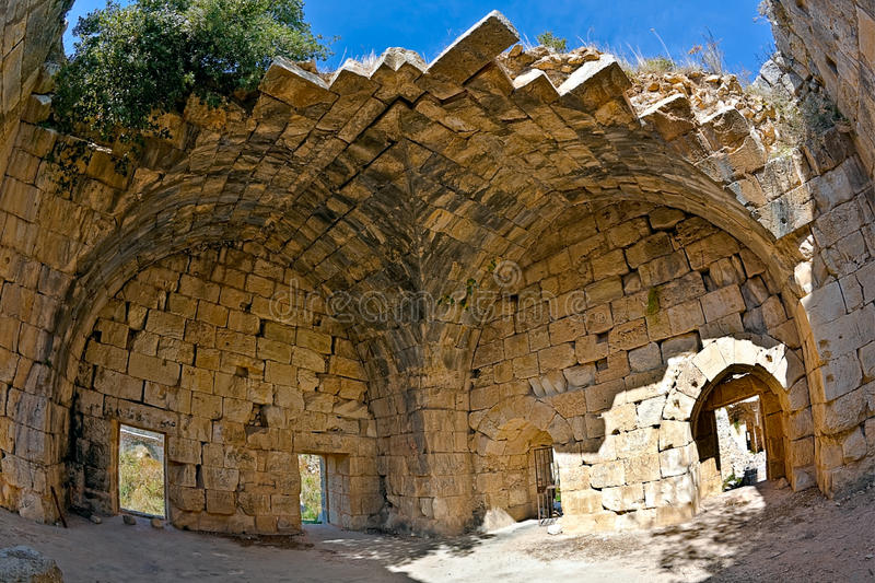 Download Syria - Saladin Castle (Qala'at Salah Ad Din) Stock Photo - Image: 11951896