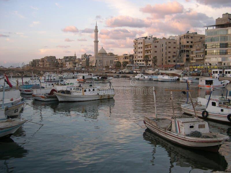 syria tartus arkivfoton