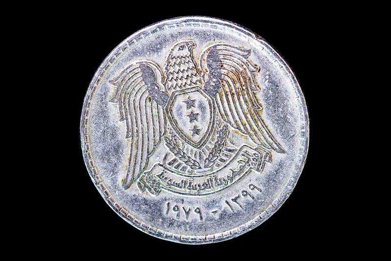 Syriansk dinar (den kvalitets- dåligan) royaltyfria foton