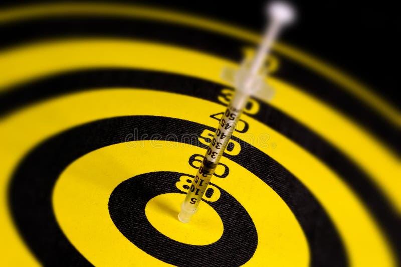 Syringe Dart stock photography