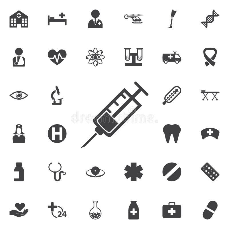 Syringe Icon vector illustration