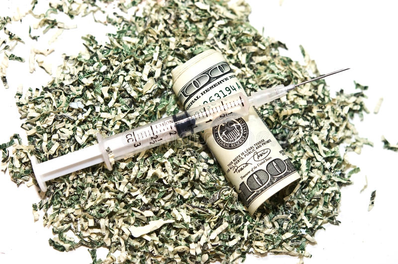 Download Syringe and Money stock photo. Image of medical, necessity - 12057216