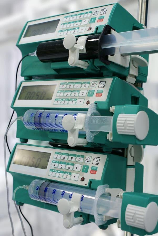 Download Syringe pumps stock photo. Image of nurse, healthcare - 1558648