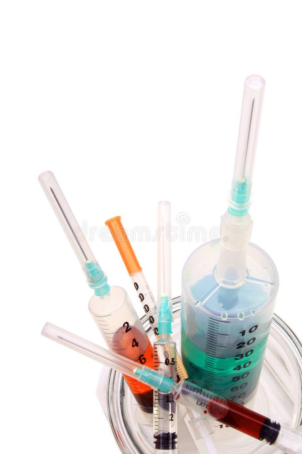 Download Syringes Royalty Free Stock Images - Image: 7309019