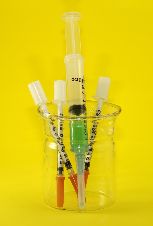 Syringes royalty free stock images