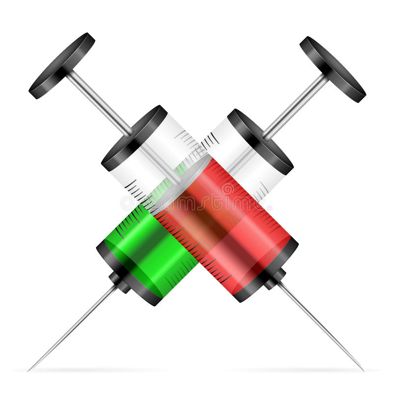 Syringes Stock Vector