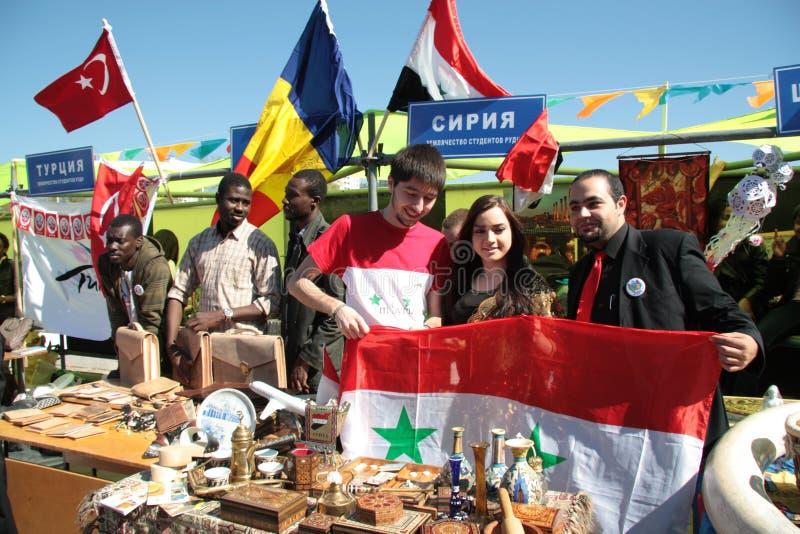 Syrische mensen stock foto