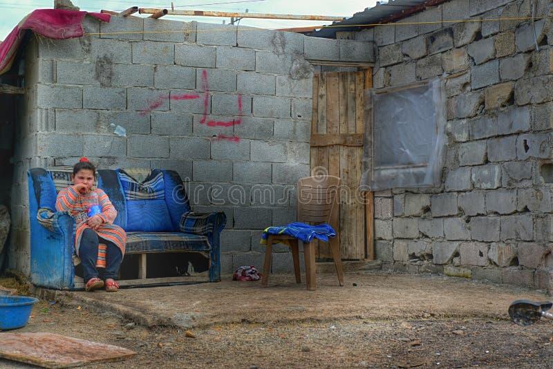 Syrische vluchteling royalty-vrije stock foto's