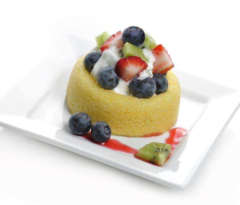 syrlig cakefrukt royaltyfri foto