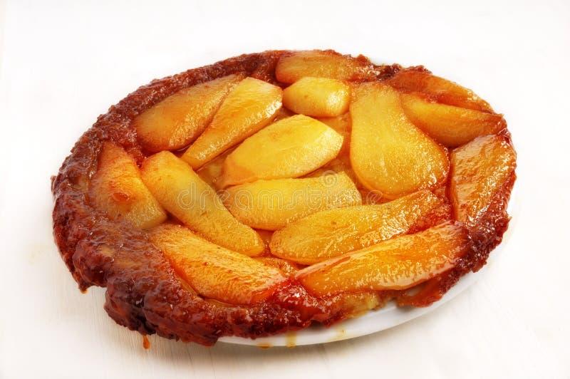 syrlig caramelized fransk pear royaltyfri foto